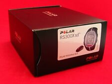 POLAR RS300X SD BLK HEART RATE MONITOR RUNNING BIKE EXERCISE FITNESS 90036622