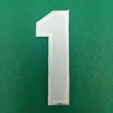 Number 1 Iron Patch numeral math counting one school applique Sew On DIY cloth