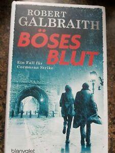 Robert Galbright Buch böses Blut (J.K. Rowling) 1 mal gelesen