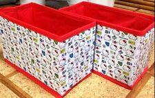 HELLO KITTY Set of 2 Small Storage Box for Cars Sanrio Japan Kawaii!