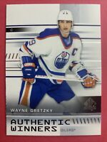 2019-20 Upper Deck SP Authentic Winners #AW-WG Wayne Gretzky Edmonton Oilers