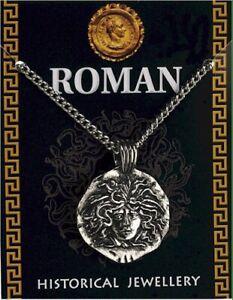 Roman Medusa Pendant On A Chain