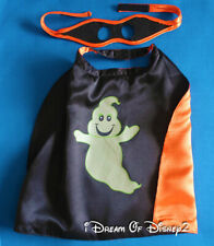 Build-A-Bear GLOW-IN-THE-DARK GHOST CAPE w EYE MASK Teddy Halloween COSTUME