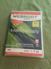 Webroot SecureAnywhere, Full Version Windows, Mac, FACTORY SEALED