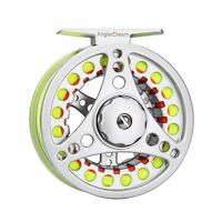 3/4 5/6 7/8WT Fly Reel and Line Combo Aluminum Fly Fishing Reel Leader Backing