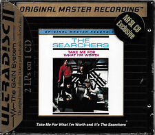 The Searchers-Take Me For What I´M Worth+It's The Searchers/ MFSL UDCD667/SEALED