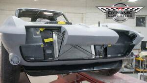 Corvette Custom Fiberglass Front Spoiler 1963 1964 1965 1966 1967