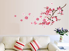 Peach Blossom Removable Wall Sticker Decal Mural Vinyl Art Home Room Decoration
