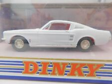 DINKY TOYS DY-16B * FORD MUSTANG FAST BACK * 1:43 * OVP * WHITE