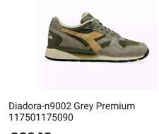 New Diadora N9002 Premium Size 8 Trainers.  Borg Elite 80s Casuals. Half price