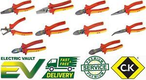 CK Tools Redline VDE Electricians Pliers & Cutters Multi Options