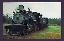 Lmh Postcard 1972 Reader Railroad 2-6-2 Prairie Possum Trot Line #108 Tourist