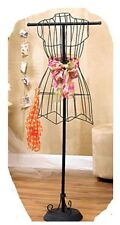 Unique Shabby Chic Bedroom Decor Vintage Wire Dress Form Hanger Mannequin