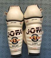 "15"" Jofa 5090 Pro Stock Hockey Shin Pads/Guards MADE IN SWEDEN"