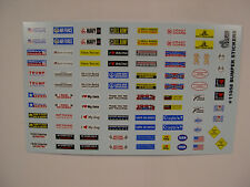 GOFER RACING BUMPER STICKER DECAL SHEET FOR 1:24 AND 1:25 SCALE MODEL CARS