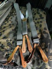 Vintage Military Trouser Braces