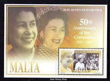 Malta 2003 50th Anniv of Coronation Miniature Sheet SG MS1314 Unmounted Mint