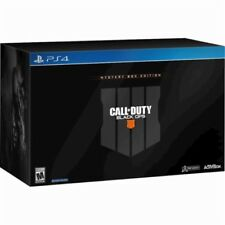 Call Of Duty Black Ops 4 Mystery Collector Box Edition PS4. FAST SHIPPING !