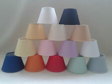 Candle Clip On Lampshade Ceiling Light Shade Handmade Cotton Fabric
