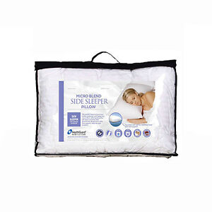 Easyrest Micro Blend Side Sleeper Pillow with Cotton Cover  -  MADE IN AUSTRALIA