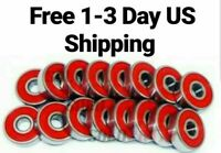 Abec 7 / Abec 9 / SWISS Skateboard Longboard Roller Skate Bearings  4 8 16 packs