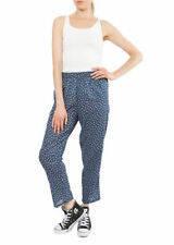 Cotton Tapered Regular Size Trousers for Women