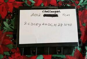 2012-2013 Dodge Challenger Durango Transmission Control Module P/N: 5150729AE