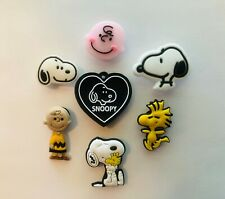 Snoopy Classic Cartoon Shoe Charms for Crocs Clog Shoes Bracelets