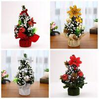 Handcraft  Desk Table Decor Christmas Tree Flowers Home Ornament Xmas Gift