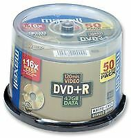 DVD + R WHITE Wide NO LOGO 50PK OPTICAL BLANK MEDIA e della memoria AV16767