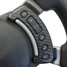 Black Carbon effect Steering Wheel Switch Cover Range Rover L322 Autobigraphy