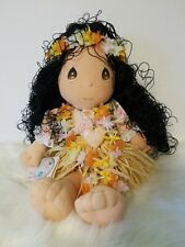 "Precious Moments 13"" The World's Children Lulu Hawaiian Girl Plush With Tags"