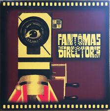 FANTOMAS The Director's Cut LP Reissue White Label Electronic Rock Mike Patton
