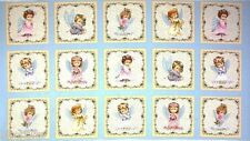 15 HOLIDAY ANGELS PANELS FAIRIES CHILDREN QUILT HOME DECOR & OTHER PROJECTS