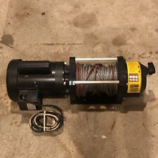 Leeson Superwinch 115-Volt Ac Steel Winch w/ Switch and Wire Rope 1723