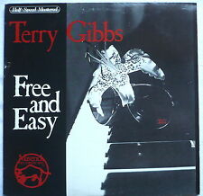 TERRY GIBBS - Free and easy - can. LP > Half-speed mastered