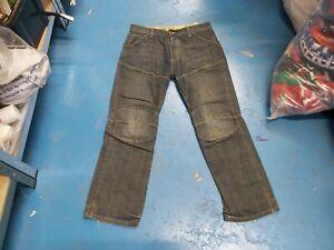 "G-Star Elwood Heritage Loose Waist 36"" Leg 32"" Faded Dark Blue Men's Denim Jeans"