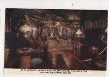 Rita Jones Locker Bar Highwayman Inn Okehampton Postcard 958a