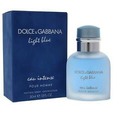 NEW Dolce & Gabbana Light Blue Eau Intense Pour Homme EDP Spray 50ml