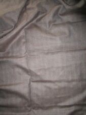 Two (2) Large Pieces Carrington Suit / Dress-making Fabric - Wool Worsted