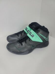 Nike Lebron James Zoom Soldier 7 VII 599264-002 13 Basketball Sneaker Black