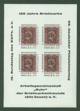 Block H58 Special sheet Germany Philately