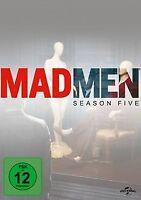 Mad Men - Season Five [4 DVDs] von Jon Hamm, John Slattery | DVD | Zustand gut