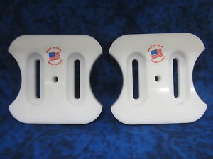 309016E701MA Craftsman Murray height adjust Poly Skid Shoe set of 2 REVERSIBLE