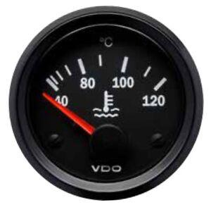 VDO Water Temp Temperature gauge, 12volt, 52mm 2 inch 40-120 Deg C 310010014