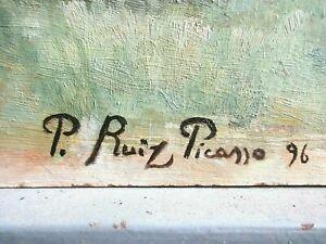 Pablo Picasso Original - 1896 - Signed. estimate $1.400,000 to $1.500,000