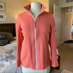 T by Talbots Women's everyday yoga jacket sz P MSRP $80