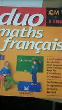 Cahier duo maths/français CM1