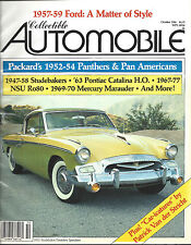 Collectible Automobile Magazine October 1986 Vol 3 - No 3