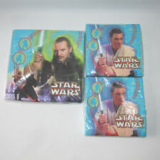 3 Vintage Star Wars Napkins Party Express Hallmark Birthday Episode 1 New Sealed